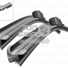 Щетки стеклоочистителя 65 cm/34 cm (комплект 2шт) (бескаркасные) AEROTWIN (BOSCH)-3397007583