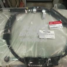 Трос включения полного привода (раздаточной коробки) Bongo III-437624E641