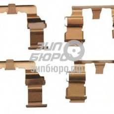 Пластина прижимная колодок передних Sportage II-581442C000
