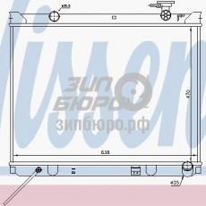 Радиатор основной Sorento I (MT 2,4/2.5 CRDi) (NISSENS)-66766