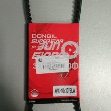 Ремень 10x1075 генератор/помпа Bongo III (2,5/4D56/TCI) (2шт на авто) (DONGIL)-AVX10X1075