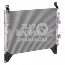 Радиатор кондиционера (дизель 2,7) Rexton II (LUZAR)-LRAC1751