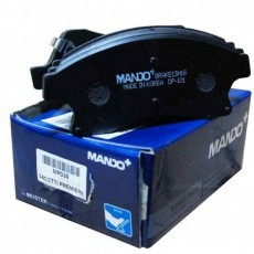 Колодки тормозные передние Cruze/Orlando/Aveo IV 12- R16 (MANDO)-MPD30