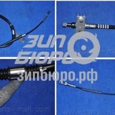 Трос ручного тормоза левый Actyon/Kyron (5-LINK) (дисковые) (PMC)-PTD003