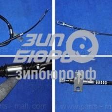 Трос ручного тормоза правый Actyon/Kyron (5-LINK) (дисковые) (PMC)-PTD004