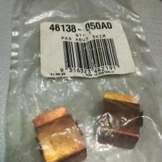 Пружина суппорта тормозного переднего (фиксатор колодок) Musso/Korando-48138050A0