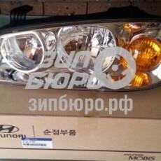 Фара передняя левая Elantra XD-921012D600