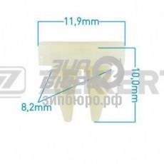 Фиксатор накладки бампера Getz/Sorento I (ZEKKERT)-BE1233