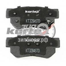 Колодки тормозные задние Sonata V/Sonata NF/Matrix/Santa Fe I/Tucson/Sportage II (KORTEX)-KT3284STD