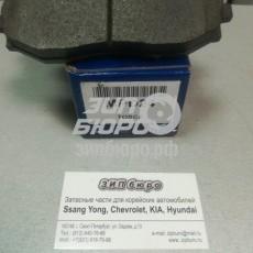 Колодки тормозные передние Epica (06-)/Evanda (MANDO)-MPD24