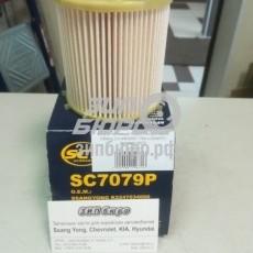 Фильтр топливный Actyon II/Actyon Sports II/Stavic 2,0 (eXDi200) 175л.с (D20DTF) (вставка) (SCT)-SC7079
