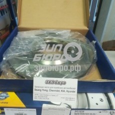 Диск тормозной передний Porter (SANGSIN)-SD1034