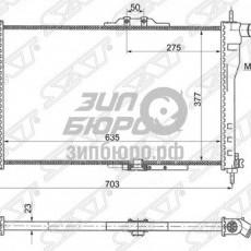 Радиатор основной Nexia (трубчатый) (SAT)-SGDW0001MT
